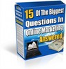 Thumbnail 15 Of The Biggest Questions In Online Marketing Answered + Reseller kit