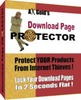 Download Page Protector - Protect Your Products From Internet Thieves! + Resale Rights