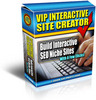 Thumbnail *NEW!*  VIP Interactive Site Creator
