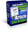 Thumbnail Article Site Builder - PLR - MRR
