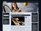 Thumbnail TENNIS TEMPLATE for Blogger,Wordpress,and HTML sites - Mrr!