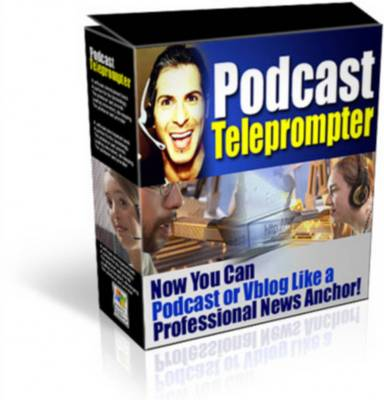 Product picture Podcast Teleprompter