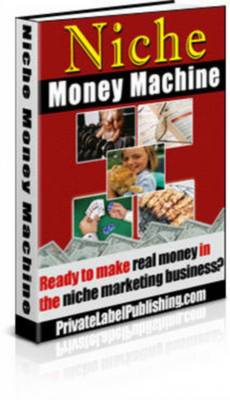 Product picture Niche Money Machine