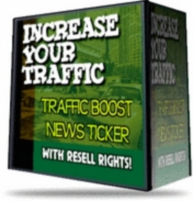 Product picture Traffic Boost News Ticker