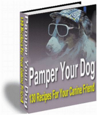 Product picture Pamper Your Dog - 130 Recipes For Your Canine Friend