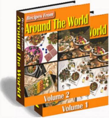 Product picture Recipes From Around The World Volumes 1 & 2  {with master resale rights}
