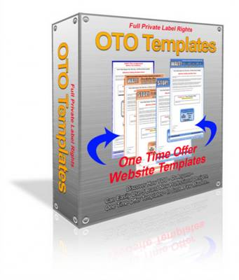 Product picture *NEW* One Time Offer Templates PLR - Simple customizable One Time Offer Templates PLR - PRIVATE LABEL RIGHTS