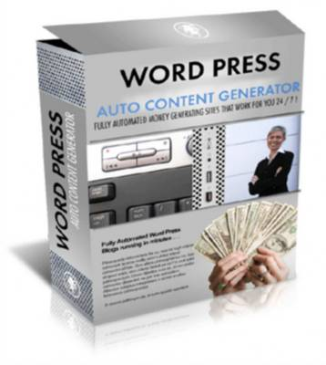 Product picture *NEW* Wordpress Auto Content Generator - Mrr