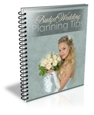 Product picture Wedding Planning On A Budget