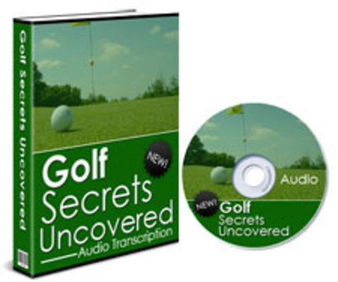 Product picture Golf Secrets Uncovered Audiobook