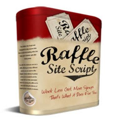 Product picture Raffle Site Script