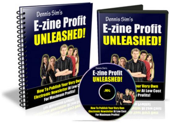 Product picture E-zine Profits Unleashed MRR