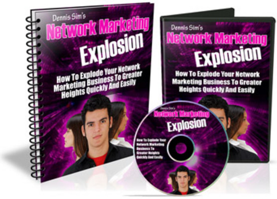 Product picture Network Marketing Explosion - Mrr!