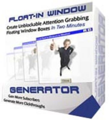 Product picture Float-In Window Generator