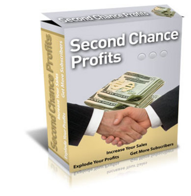 Product picture *NEW* Second Chance Profits -With Master Resale Rights***