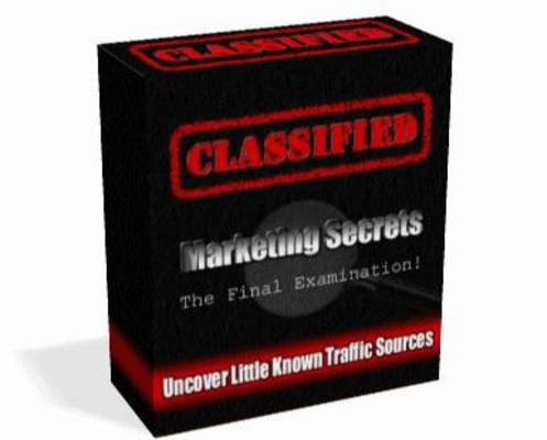 Product picture Classified Marketing Secrets Video Tutorials