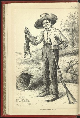 Product picture Adventures of Huckleberry Finn by Mark Twain
