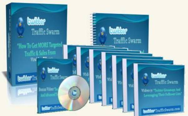 Product picture Twitter Traffic Swarm With Master Resale Rights