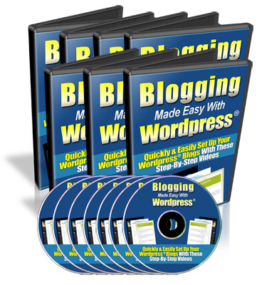 Product picture Blogging Made Easy with Wordpress - MRR