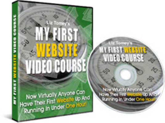 Product picture My First Website Video Course - MRR