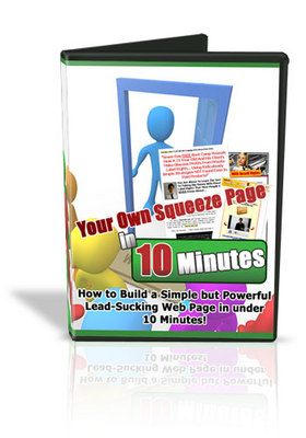 Product picture Your Own Squeeze Page in 10 Minutes(mrr)
