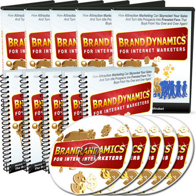 Product picture Brand Dynamics for Internet Marketers - Audio & Video Series