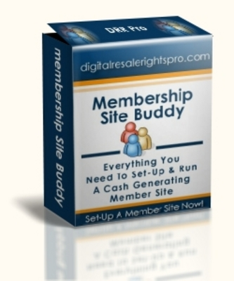 Product picture Membership Site Buddy With Master Resell Rights