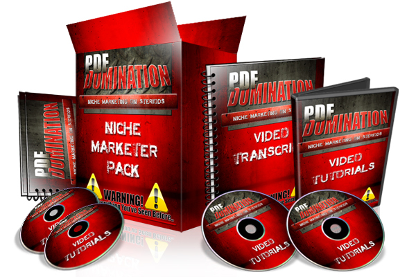 Product picture PDF Domination Video Course + 2 Great Bonuses!