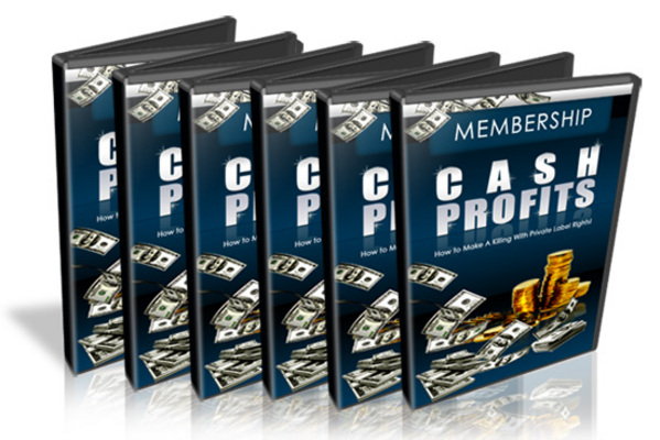 Product picture Membership Cash Profits Video Series with Mrr