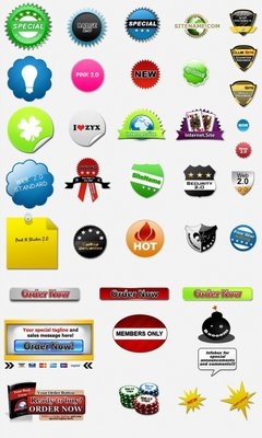 Product picture 38 Web 2.0 Badges(plr)